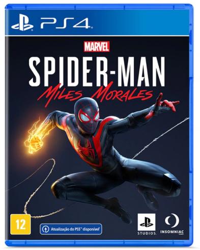 Spider-man: Miles Morales - PS4