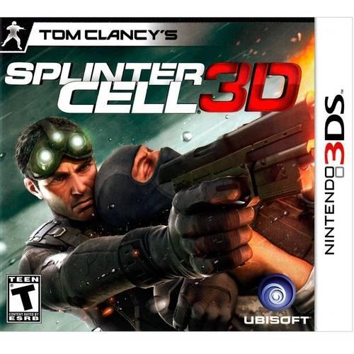 Splinter cell 3d - nintendo 3ds