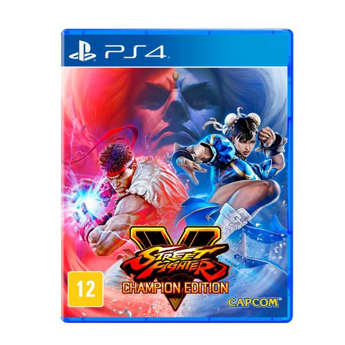 Street fighter V - Champion Edition - ps4