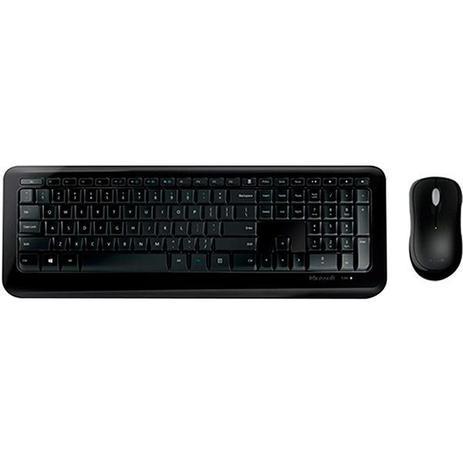 Teclado E Mouse Sem Fio Desktop 850 Usb Preto PY9-00021 - Microsoft
