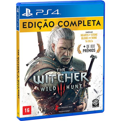 The witcher 3 wild hunt edicao completa ps4