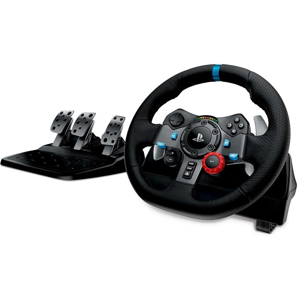 Volante Logitech Driving Force G29, PS3/PS4/PC, Preto