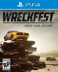 Wreckfest drive hard die last - ps4
