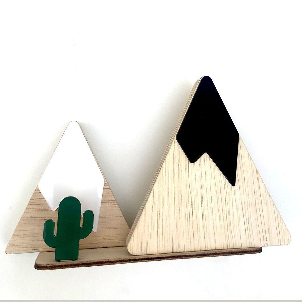 Adorno Decorativo Montanha