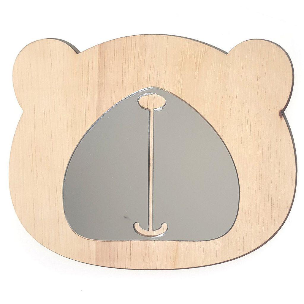 Espelho Montessoriano Decorativo Urso