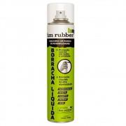 Borracha Líquida Spray Impermeabilizante Envelopamento Anticorrosivo 400 ml Hm Rubber Cinza