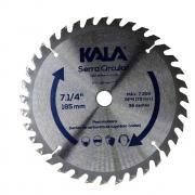 Disco de Serra Vídea para Madeira 7.1/4'' 185mm 36 Dentes Kala