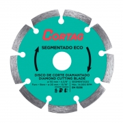 Disco Diamantado Segmentado Eco 110mm x 20mm Cortag