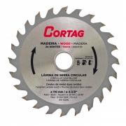 Disco Lâmina de Serra Vídea para Madeira 110mm 24 Dentes Cortag