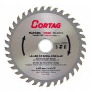 Disco Lâmina de Serra Vídea para Madeira 110mm 36 Dentes Cortag
