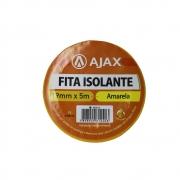 Fita Isolante 19mm 5m Ajax Amarelo