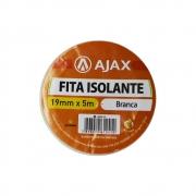 Fita Isolante 19mm 5m Ajax Branco