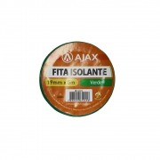 Fita Isolante 19mm 5m Ajax Verde