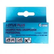 Grampo para Grampeador Profissional 6mm 1000un Lotus