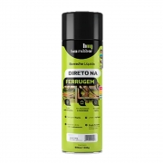 Impertech Borracha Líquida Impermeabilizante Spray 400ml Hm Rubber Preto
