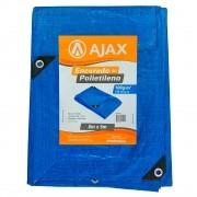 Lona Encerado de Polietileno 150 micras 6m x 5m Ajax Azul