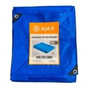 Lona Encerado de Polietileno 200 micras 2m x 2m Ajax Azul
