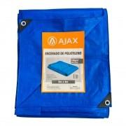 Lona Encerado de Polietileno 200 micras 6m x 4m Ajax Azul
