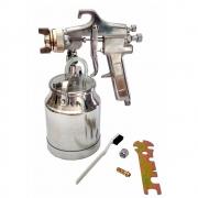 Pistola de Pintura Pneumática Alta Pressão 1 Litro Alumínio Lotus 4457