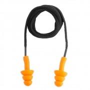 Protetor Auditivo Plug Silicone/Algodão 14 dB C.A.11.023 Vonder