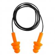 Protetor Auditivo Plug Silicone/PVC 14 dB C.A.11.023  Vonder