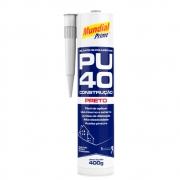 PU40 Selante de Poliuretano 400g Mundial Prime Preto