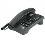 Telefone com Fio Preto Intelbras Pleno