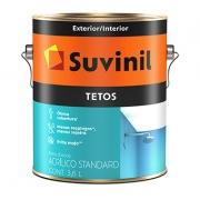 Tinta Acrílica para Tetos Antimofo 3,6lt Suvinil Branco Neve
