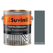 Tinta Esmalte Contra Ferrugem 3,6lts  Suvinil  Cinza Escuro