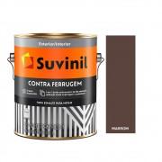 Tinta Esmalte Contra Ferrugem 3,6lts Suvinil Marrom