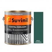 Tinta Esmalte Contra Ferrugem 3,6lts Suvinil Verde Colonial
