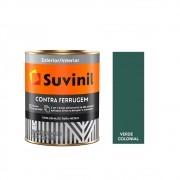 Tinta Esmalte Contra Ferrugem 900ml Suvinil Verde Colonial