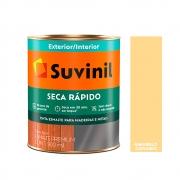 Tinta Esmalte Seca Rápido Madeiras e Metais Suvinil 900ml Amarelo Canário Acetinado