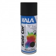 Tinta Spray Alta Temperatura 600ºC 350ml Kala Preto Fosco