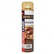 Verniz Spray para Madeira 400ml Chemicolor Mogno