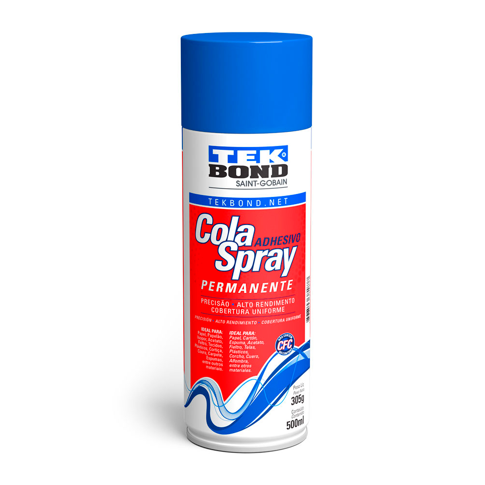 Cola Spray Permanente 350g Tekbond
