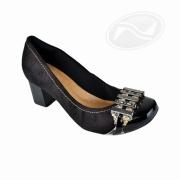 Sapato Casual Salto Médio Crysalis