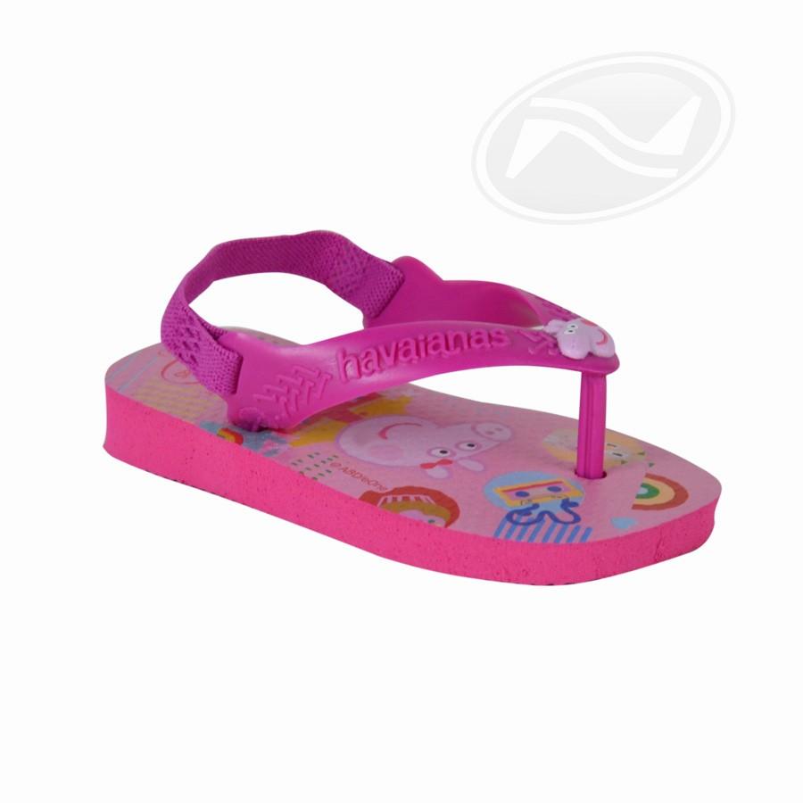 Chinelo Infantil Feminino Havaianas N Baby Peppa Pig