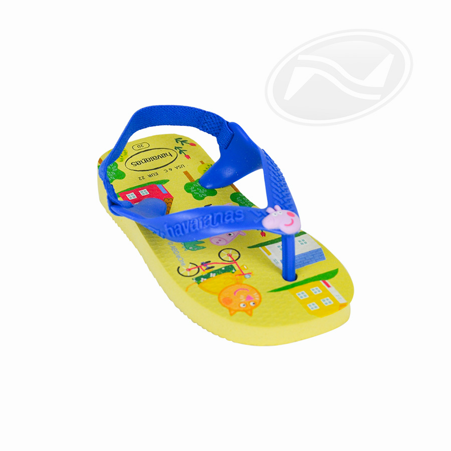 Chinelo Infantil Masculino Havaianas N Baby Peppa Pig