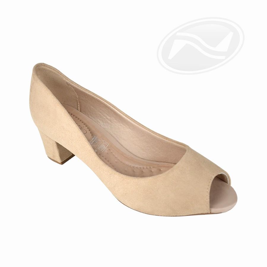 Sapato Casual Peep Toe Beira Rio