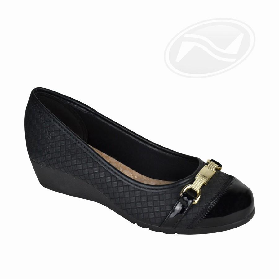 Sapato Feminino Anabela Moleca