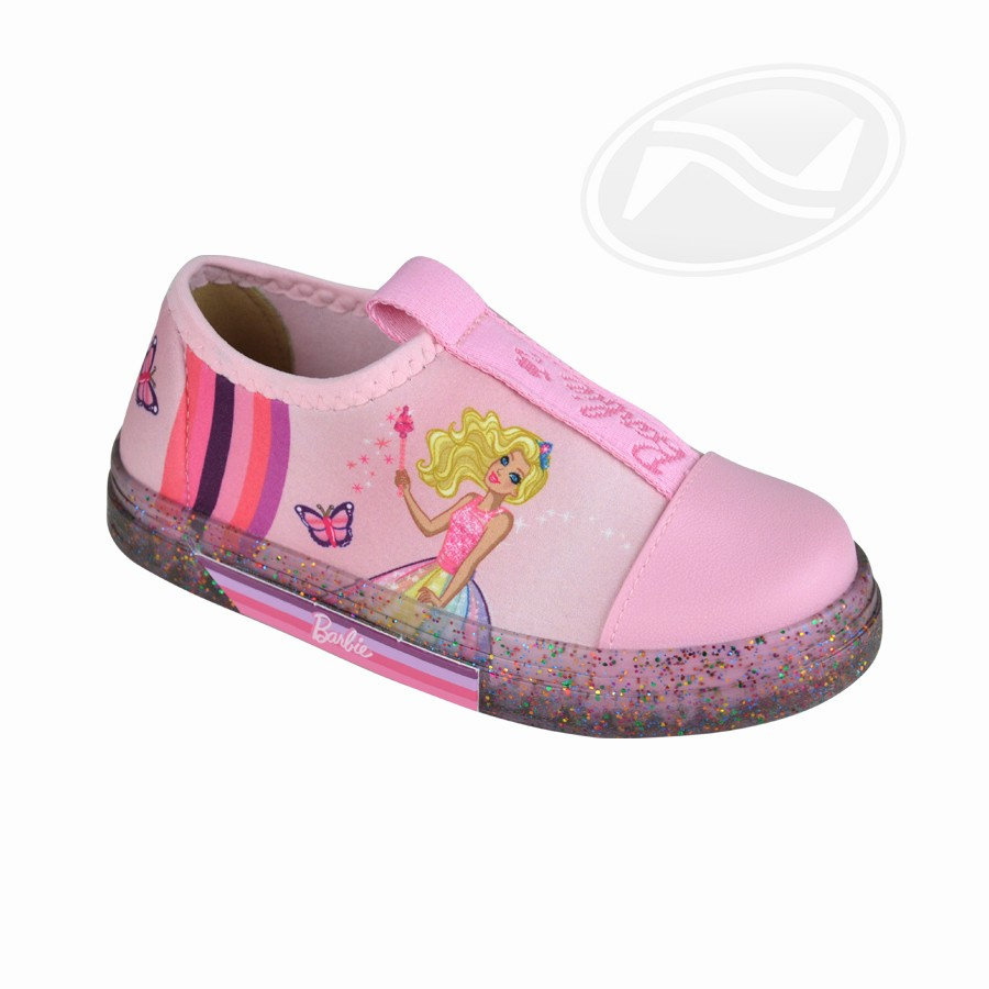 Tênis Infantil Feminino Iate Barbie Grendene Kids
