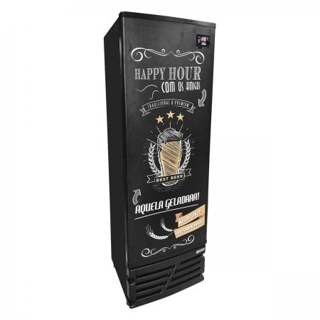 Cervejeira 449,7 Litros Porta Cega Happy Hour 220V CCV315 - Imbera