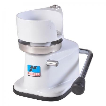 Maquina Modeladora De Hamburguer 12,8Cm Branco Hp-128 - Picelli