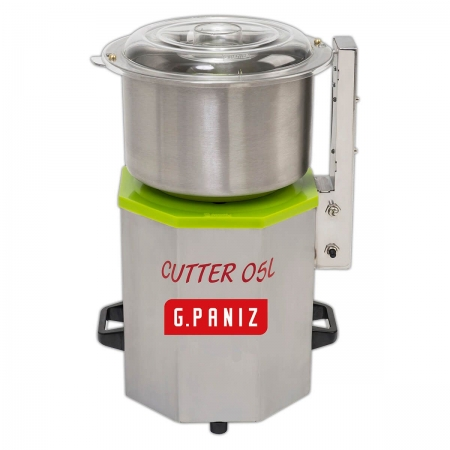 Processador De Alimentos Industrial Cutter 5 Litros 1/2Cv Inox - G-Paniz - 110V