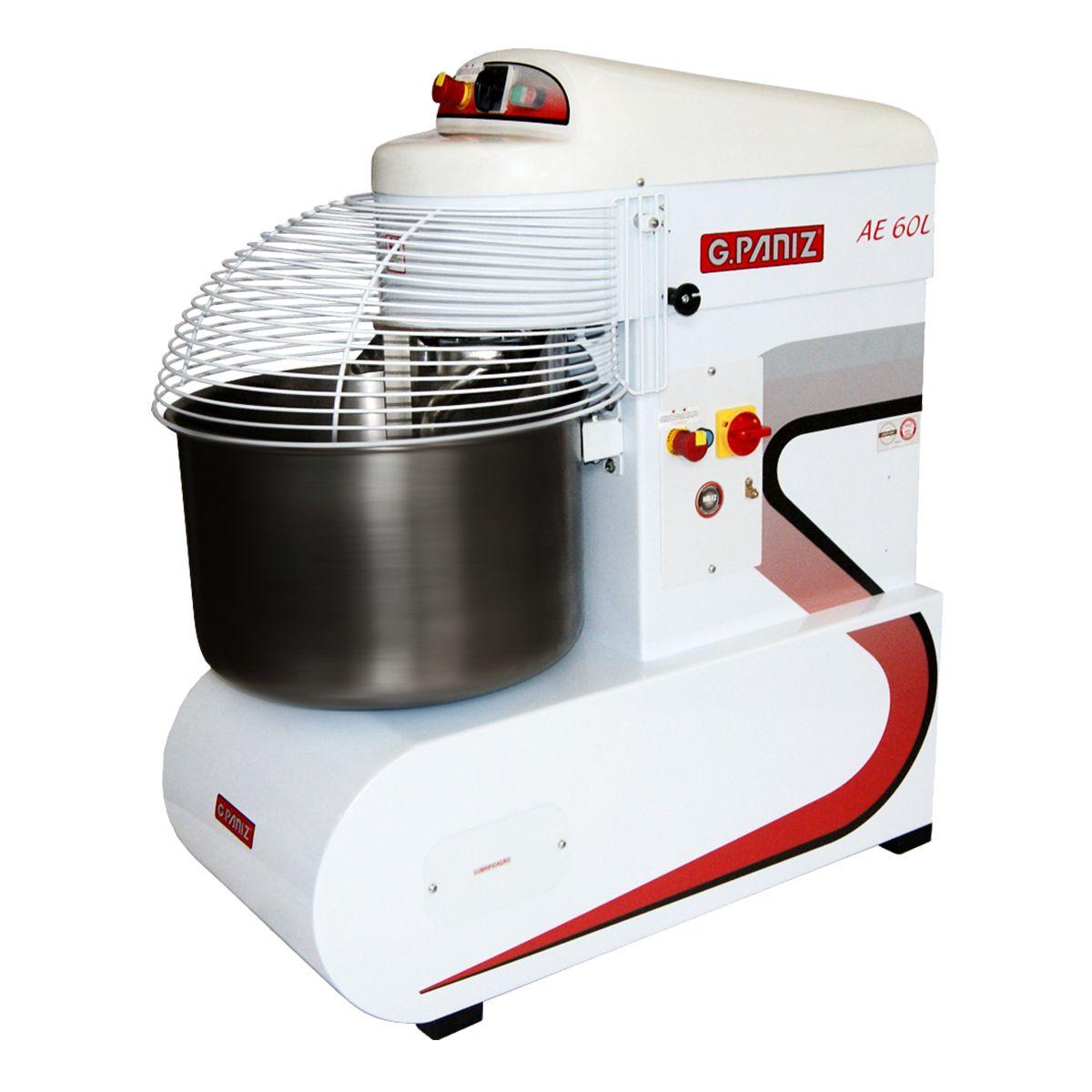 Amassadeira Espiral Elétrica 60 Kg 220V 3Cv Monofásica Ae60L - G-Paniz