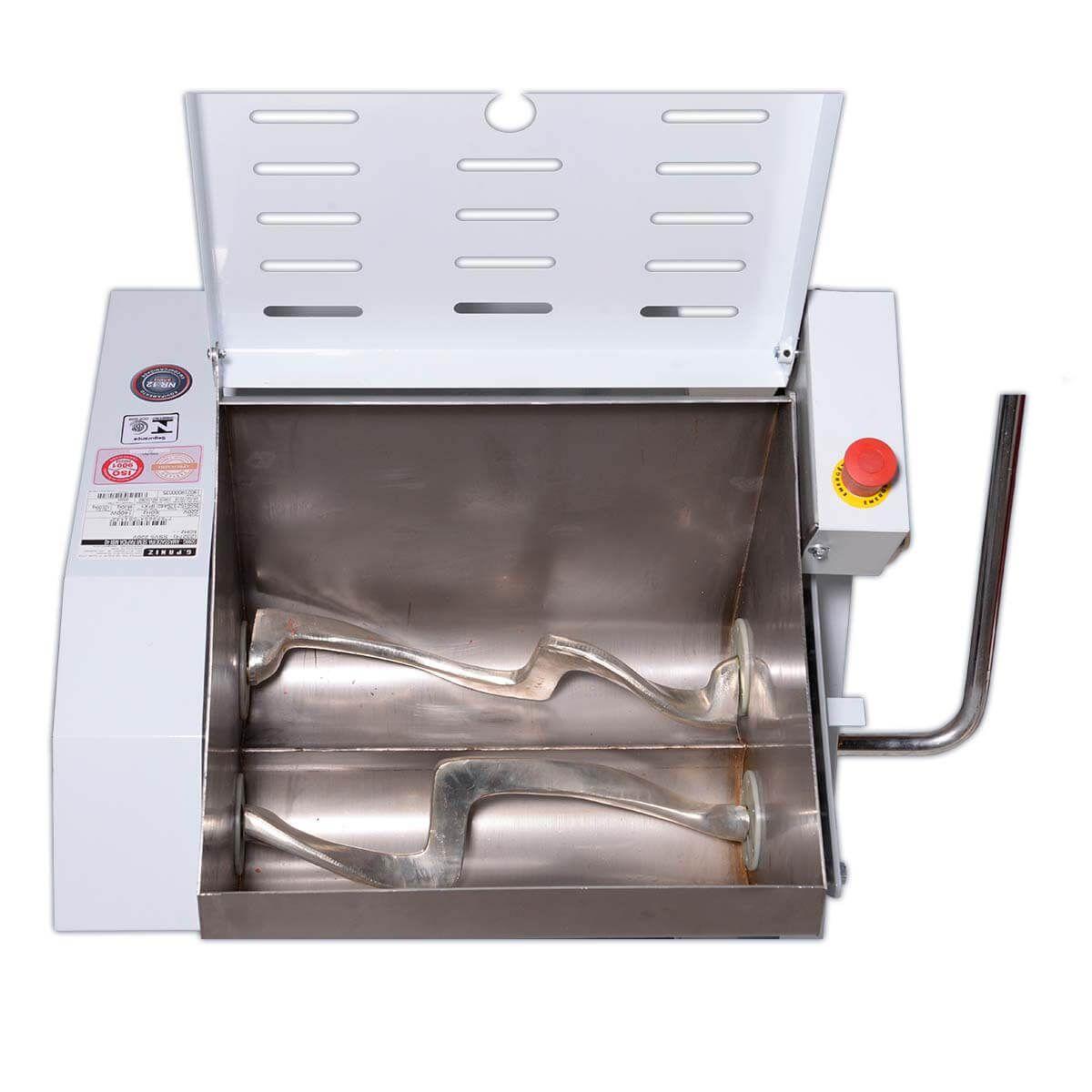 Amassadeira Semi-Rápida Basculante Elétrica 40 Kg Bivolt MBI40 - Gastromaq
