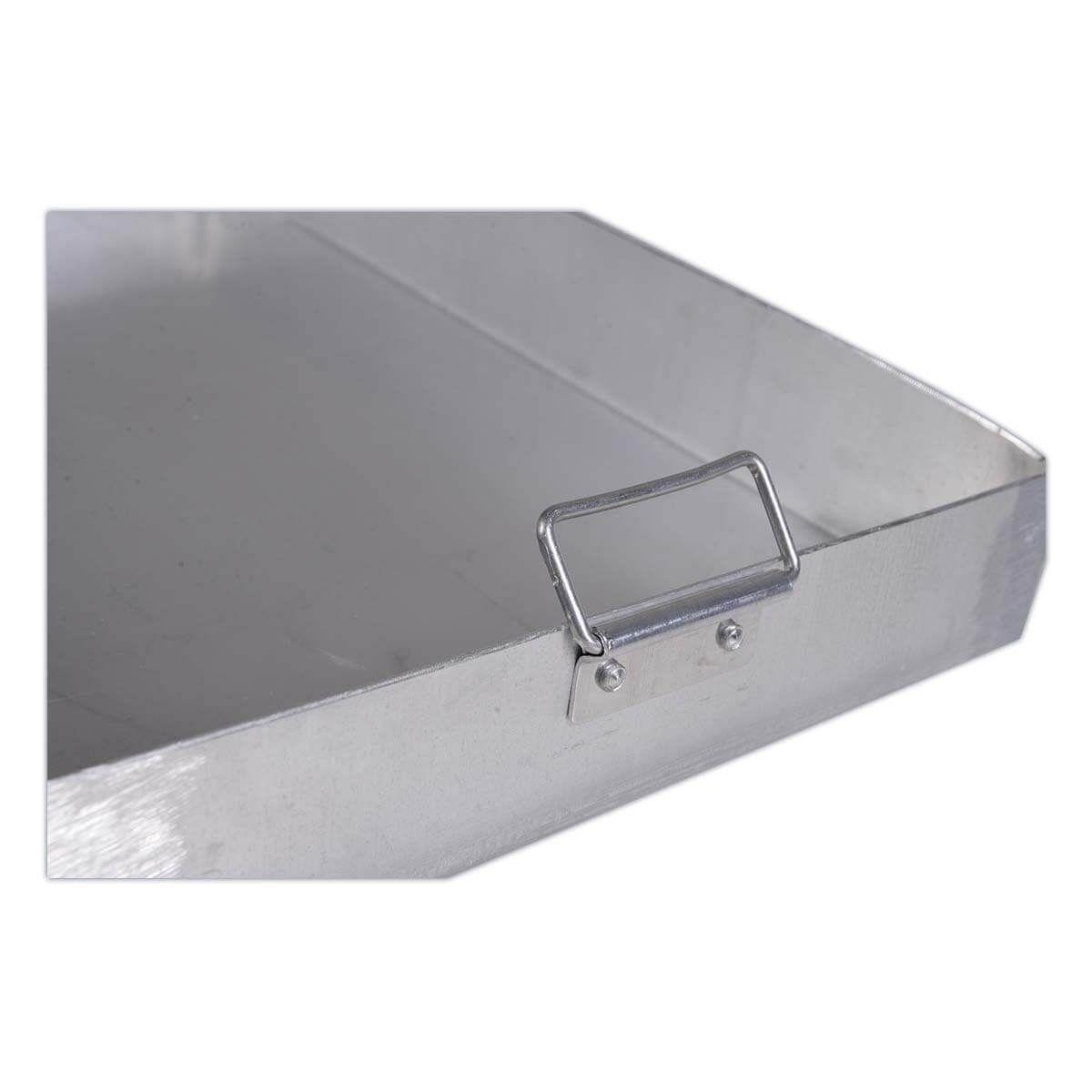 Assadeira De Alumínio Linha Hotel N7 55X37 - Alumínio São Jorge