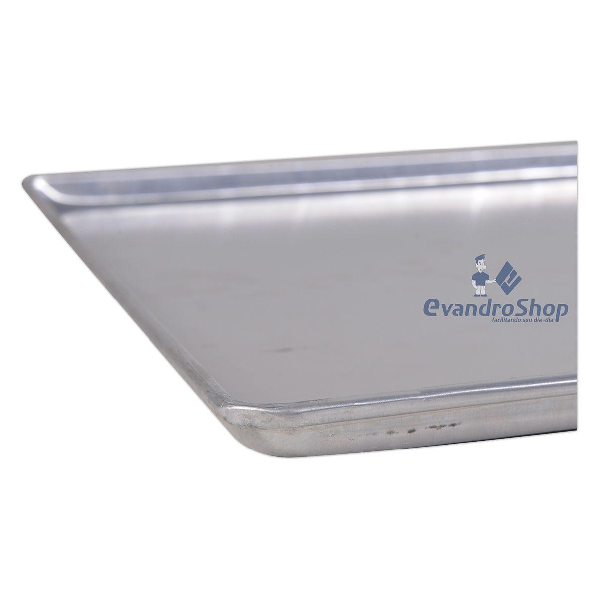 Assadeira De Aluminio Lisa 58X70X2 Al07 - Cainco