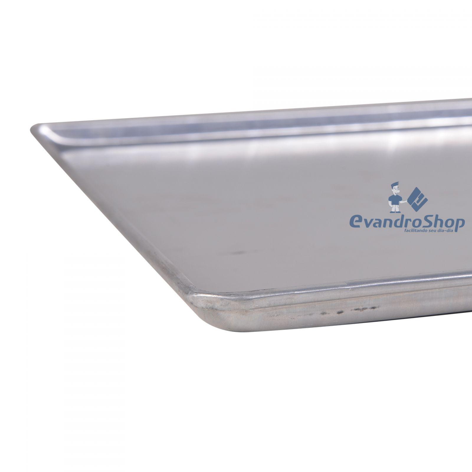 Assadeira De Aluminio Lisa 58X70X4 Al07 - Cainco